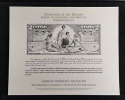 1896 1897 Bep Prints 2 10 And 5 Silver Certificate Lg Size