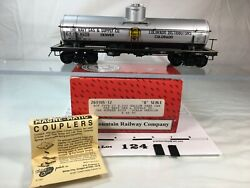 124 Intermountain Acf Type27 8000 Gal Tank Car Navy Gas And Supply O Scale 2 Rail
