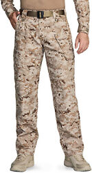 Cqr Menand039s Ripstop Cargo Pants Tactical Pants Water Repellent Hiking Pants