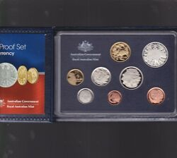 2006 Australia Proof Coin Set In Folder With Outer Box And Certificate