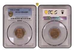 1909-s Vdb Lincoln Penny Ms63bn