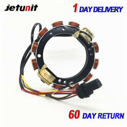 9amp For Johnson Evinrude Outboard Stator 1989-199860,65and70hps.l.o.w. El Tl