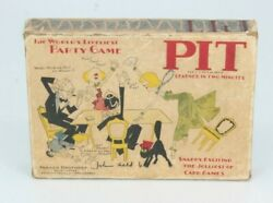 Pit Card Game 1919 John Held Jr. Edition Parker Brothers Rare Scare Complete