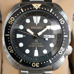 Seiko Prospex Srp775k1 Divers Cal.4r35 Turtle Box Automatic Mens Watch Authentic