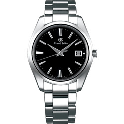 Grand Seiko Heritage Collection Sbgp011 Watch 9f85 Black Dial Menand039s