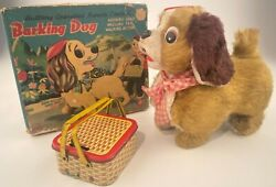 Vintage Line Mar Battery Operated Remote Control Barking Dog Toy J-1693 - Parts
