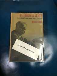 An American Genius Ernest Orlando Lawrence By Herbert Childs 1968 Signed 1st