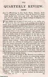 Bennettand039s New South Wales Andc. An Uncommon Original Article From The Quarterly