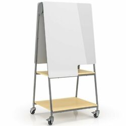 Safco Learn 30x 64mobile Whiteboard In Gray