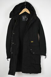 G-star Raw Hunt Paletot Menand039s Small Hooded Waisted Below Hips Jacket 34141-gs