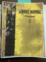 Hyster P60a P80a Pioneer Repair And Service Manual Form 3046