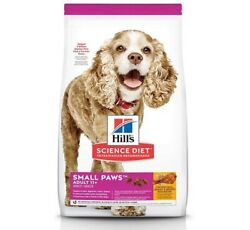 Dry Dog Food Adult 11+ For Senior Dogs Small Paws Chicken Meal Barley And Brow