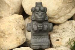 Aztec Death Whistle Mictecacihuatl Black Clay Produces Most Frightening Sound