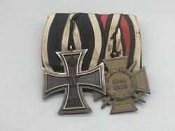 Wwi Iron Cross Medal Group
