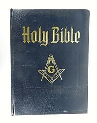 Heirloom Holy Bible Masonic Red Letter Edition Old/new Testaments 1988