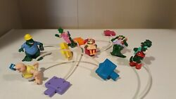 Full Set Of Vintage Mcdonalds Happy Meal Toys Dinosaurs Air Pump Toys Free Ship