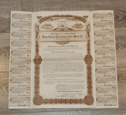 Idaho Nevada Consolidated Gold Mines Co, 1920 7 1/2 Gold Coupon Bond