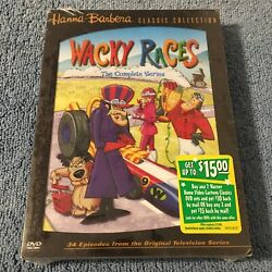 Wacky Races - The Complete Series Dvd, 2004, 3-disc Set Brand New Sealed, Rare