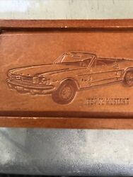 1964 1/2 Mustang Fossil Relic Watch Rare