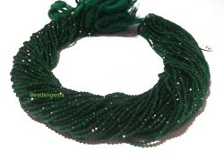 50 Strand Chrome Diopside Quartz Round Faceted 2mm Gemstone Hydro Beads 13inch