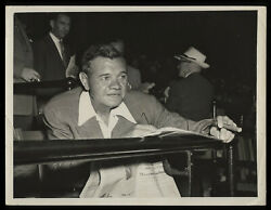 Babe Ruth Original Type 1 Photo - Crystal Clear Picture Of Baseball Legend