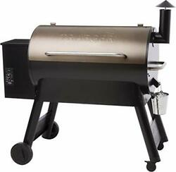 Grillpro Treager Pro Series 34 Pellet Bbq Barrel Grill Sawhorse Chassis Bronze