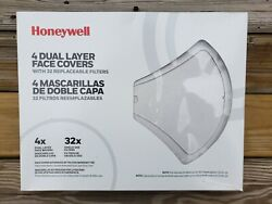 Honeywell 2 Dual Layer Face Cover With 12 Replaceble Filtersread Description