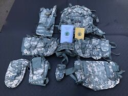 New Military Molle Core Rifleman Set 8465-01-525-0578 With Manuals