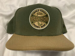Exclusive Boston Red Sox 1918 World Series Hat New Era 59fifty Fitted Army 7 3/8