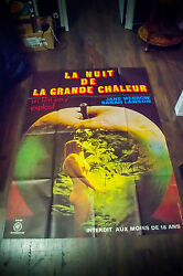 Night Of The Big Heat 4x6 Ft Adult X Rated Vintage Movie Poster Original 1967