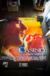 Casino Style A 4x6 Ft Bus Shelter Vintage Movie Poster Original 1996