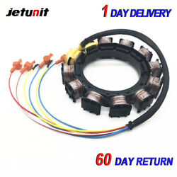 Outboard Stator For Mercury 398-858535a3 N-185865 1980-198380hp 9 Amp