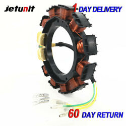 9amp Outboard Stator For Mercury/mariner 1996-2005405055and60hp-3cyl174-2075k1
