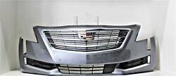 2016- 2018 Cadillac Ct6 Platinum Front Bumper Assembly Oem Satin Steel