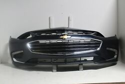 2016-2018 Chevy Malibu Front Bumper Assembly Oem W/led Old Blue Eyes M119