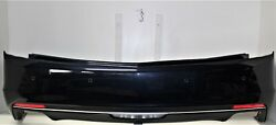 2016-2017-2018 Cadillac Ct6 Rear Bumper Assembly - Oem Gm Old Blue Eyes