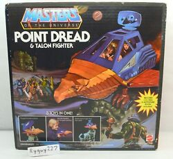 Motu, Point Dread And Talon Fighter, Masters Of The Universe, Misb, Sealed Box