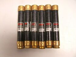 6 Bussman Fusetron 15 Amp Fuse 600 Vac Frs-r-15 Lot Of 6