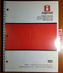 Case Ingersoll 108 111 112 114 116 Compact Tractor Parts Catalog Manual 8-2991