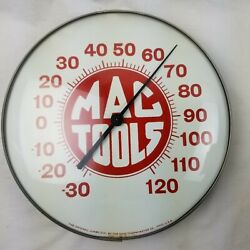 Mac Tools Thermometer The Original Jumbo Dial By Ohio 12 Round Wall Advertise