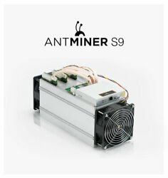 Antminer S9 Asic Bitcoin Miner New Never Used Never Switched On