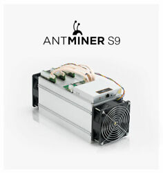 Bitmain Antminer S9 Bitcoin Miner New Never Switched On In A Factory Box