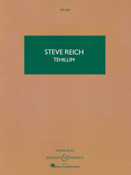 Tehillim For Voices And Ensemble Or Chamber Orchestra