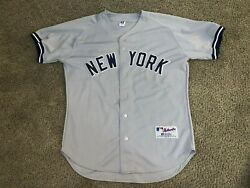 Authentic Vintage New York Yankees Alex Rodriguez Jersey Rare Russell 48 Xl