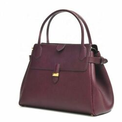 Marc Jacobs Collection Genuine Leather Camille Satchel New With Tags And Box