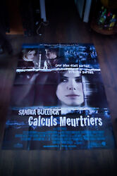 Murder By Numbers 4x6 Ft Vintage French Grande Movie Poster Original 2002