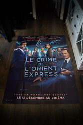 Murder On The Orient Express 4x6 Ft French Grande Movie Poster Original 2017