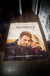 To The Wonder Terence Malick 4x6 Ft French Grande Movie Poster Original 2013
