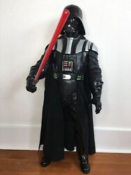 Star Wars Darth Vader Collectible Action Figure By Jakks Pacific Lrg 31andrdquo Talking