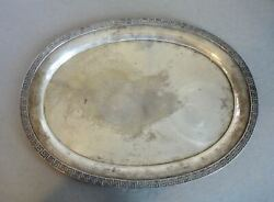Antique American Coin Silver Tray R And W. Wilson Philadelphia Pa. C.1825